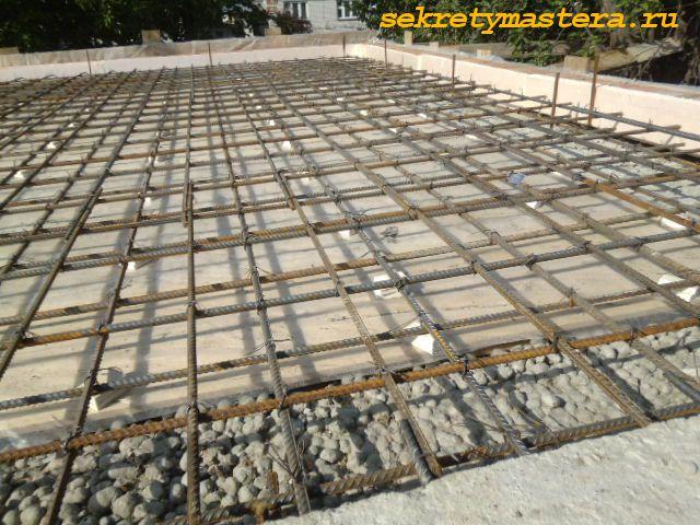 Самостоятельная заливка плиты перекрытия сваи жби 40х40