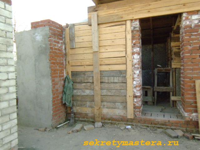 Опалубка для керамзит-бетона