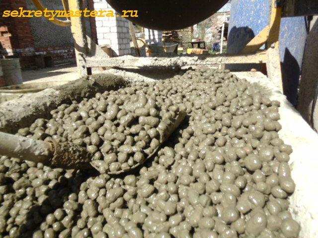 Пристрой керамзитобетон укрытия бетона
