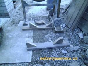 Установка бетономешалки