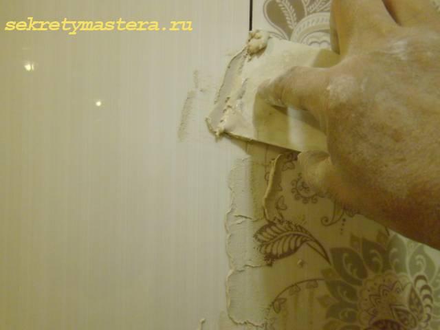 Укладка плитки на стену