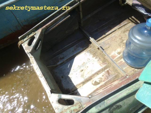 Ремонт лодки Казанка