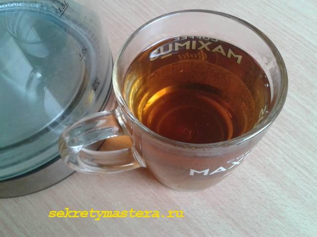 Чай из листа земляники